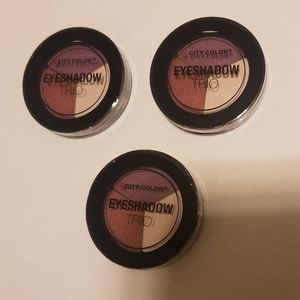 City Color Eyeshadow Trio Lot 3